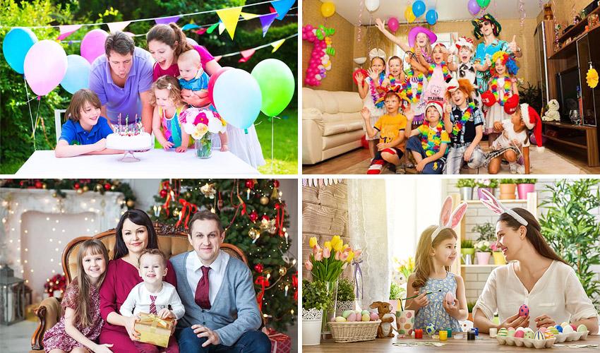 фотосессия в праздники