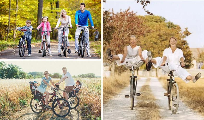 велосипед для фотосессии
